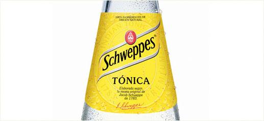 tonica schweppes
