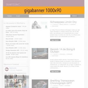 Publicidad en Sibaritissimo. Gigabanner. 1000x90
