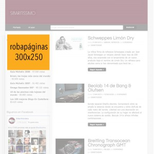 Publicidad en Sibaritissimo. 300x250