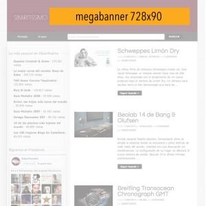 Publicidad en Sibaritissimo. 728x90